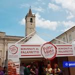 Stand del fritto misto in piazza Arringo