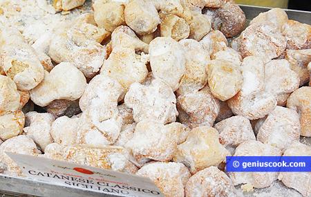 Biscotti pasta di mandorle della Sicilia