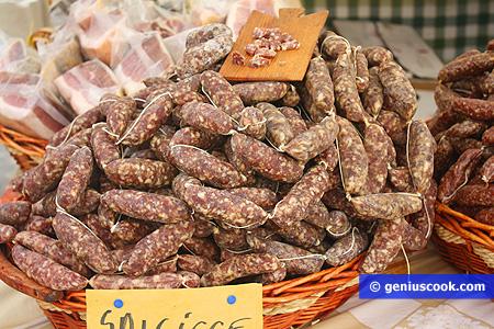 Salsicce secche