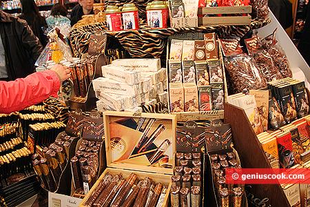 Altri set di sigari di cioccolato