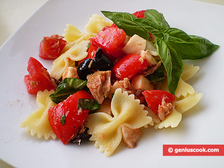 Farfalle all'insalata