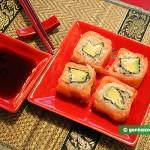 Sushi con Formaggio Philadelphia e Salmone affumicato