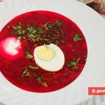 Borsh Freddo, minestrone russo