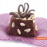 Budino di Cioccolato con Mandorle e Prugne secche