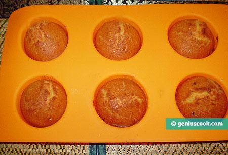 Muffin di mais cotti, in forma