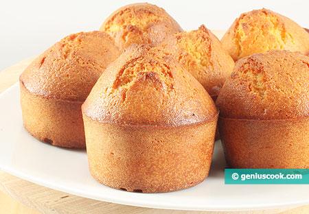 Muffin di mais cotti