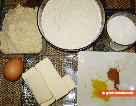 Ingrediente per i Biscotti di Linz con marmellata di Ribes