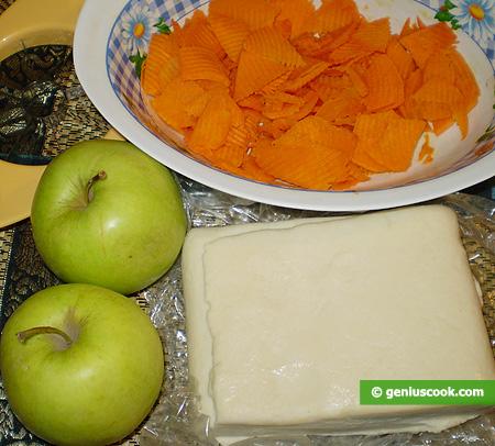 Ingredienti per la Crostata di Mele e Zucca