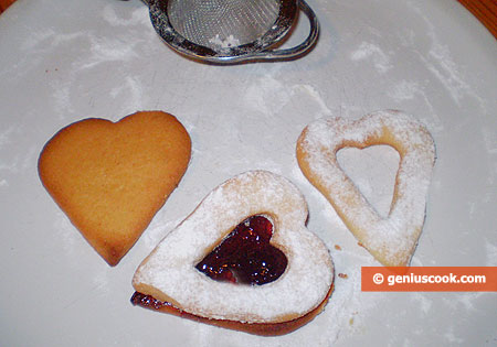 Farcitura dei biscotti di Linz