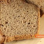 Pane di Segale con Semi di Lino fatto in casa