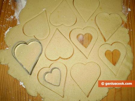 preparazione componenti biscotti