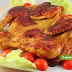 Pollo marinato alla diavola