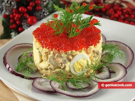 Insalata russa Olivier per festività