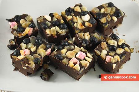 Dessert al Cioccolato Rocky Road