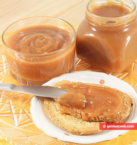 Dulce de Crema Panna Caramellata su crostini
