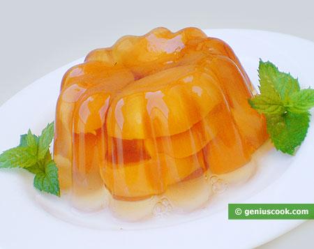 Mango in Gelatina