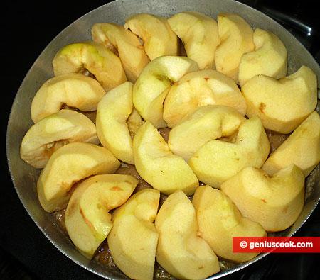 mele nel caramello, da cuocere