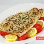 Filetti di pesce Persico africano in salsa gremolata
