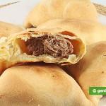 Samosa con carne trita