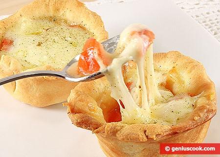 Cestini Mini Pizzette Margherita