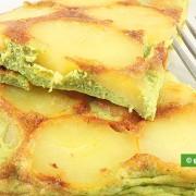 Frittata di Patate con Pesto genovese