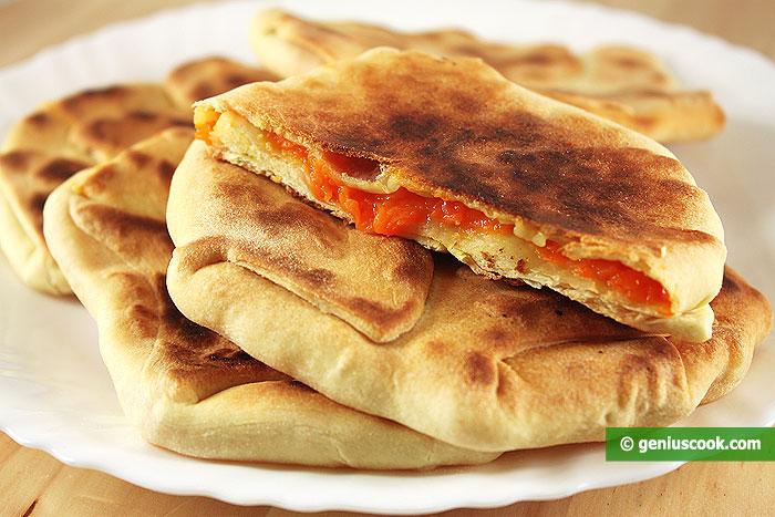 Pizze con Zucca (Placinta)
