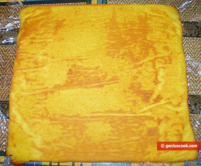 Pan di spagna bagnato