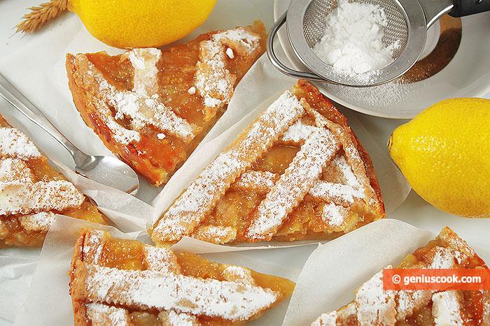 Fette di Crostata con Limone