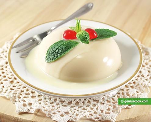 Budino al Cocco e Cioccolato bianco (Blanc Manger)