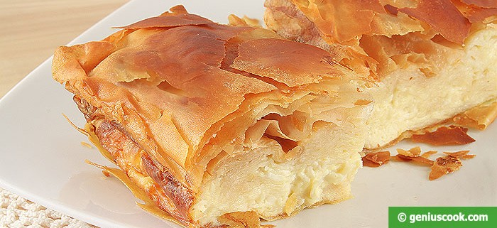 Gibanica Torta rustica Serba