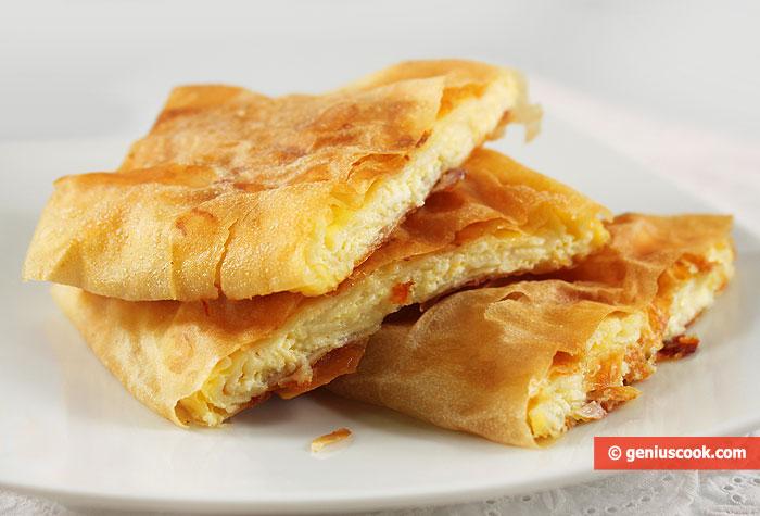 Torta Greca Bugatsa