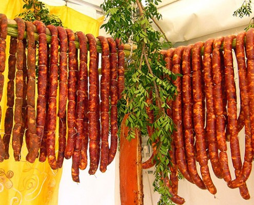 Salsicce al Coriandolo