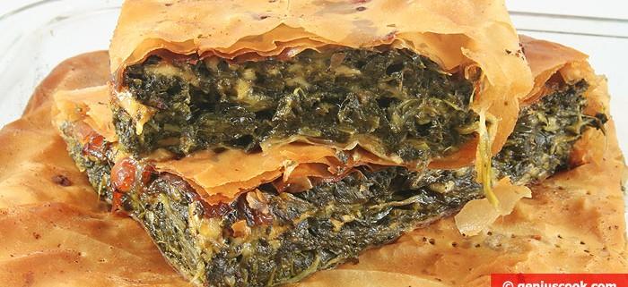 Torta salata di Spinaci e Formaggio