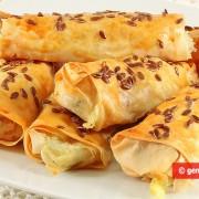 Cannoli rustici con Patate e Mozzarella
