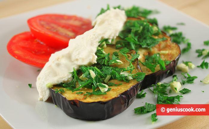 Melanzane fritte con Salsa di Yogurt greco