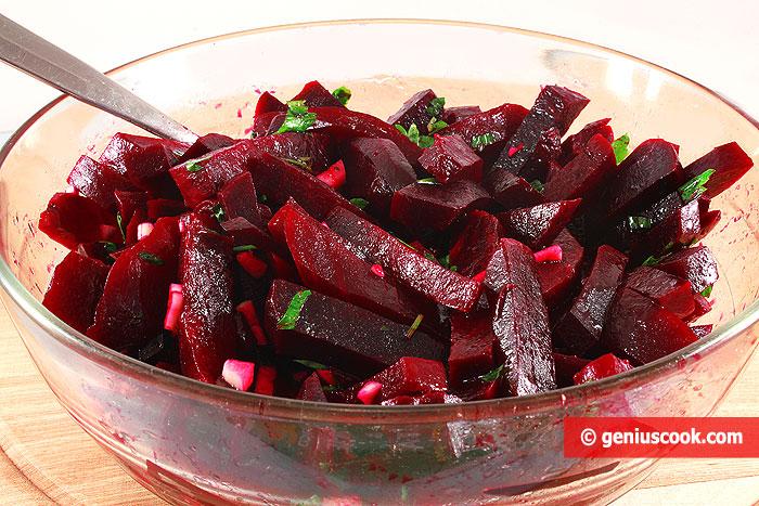 Insalata dietetica di Barbabietola rossa