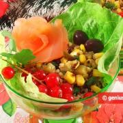 Insalata di Quinoa con Salmone