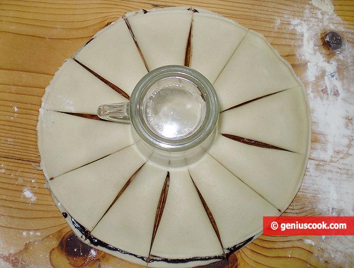 Foto 1 - dischi sovrapposti tagliati in 12 settori