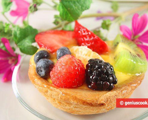 Canestrelli di Frutta e Crema