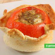 Pomodori ripieni in crosta