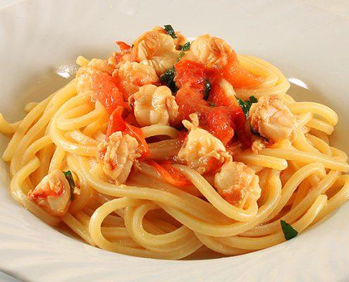 Spaghetti con i Gamberi Grandi/Mazzancolle